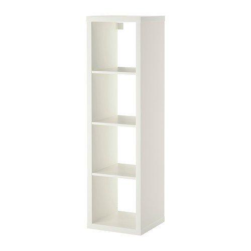 Ikea Kallax 1 Regal rechteckig weiß