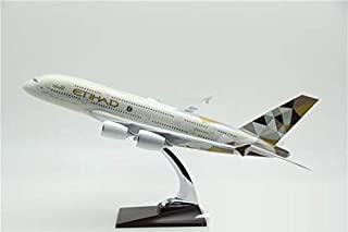 1/100 Etihad Airways Airbus A380-800 LARGE RESIN MODEL AIRCRAFT