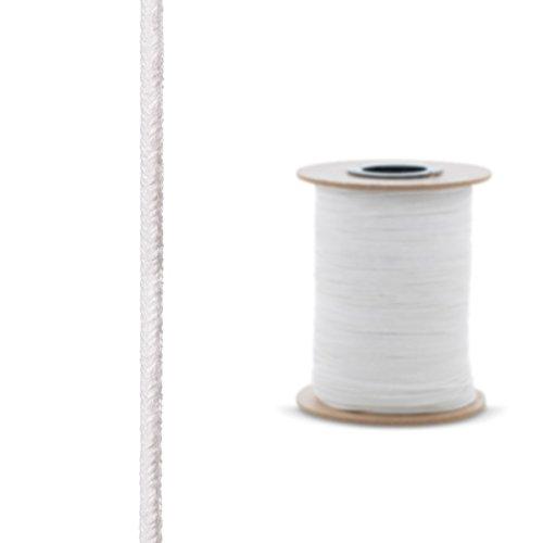 STEIGNER Ofendichtschnur Kamindichtung aus KERAMIKFASERN, hitzebeständig bis 1260°C, 1,5m, 6x6mm, SKD01-6