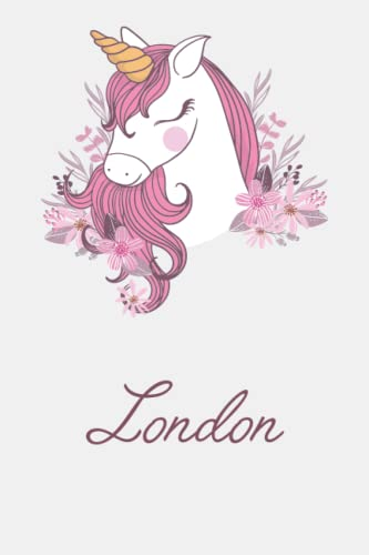 London And Unicorn: Great Gifts Notebook for Women, Girls, Wives, Mom, Aunt, kids Friends   Fun Spy Games for Holiday   London personal name journal   ...   Ideas For Anniversary Gifts & New Year