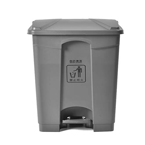 Why Choose WQEYMX Outdoor Trash can Kitchen Trash can, Pedal Trash can hinged Cover Soft Seal, Deodo...