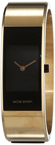 JACOB JENSEN Damen Analog Quarz Uhr mit Edelstahl Armband Eclipse Item NO. 464