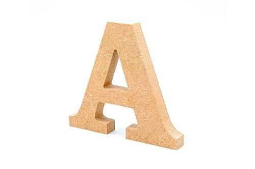 Letras madera. Letras grandes madera DM 20cm alto