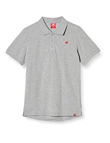[ニューバランス] ポロシャツ ピケポロシャツ AMT91593 AG(アスレチックグレー) 日本 M (日本サイズM相当)