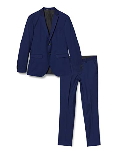 JACK & JONES Herren JPRBLAFRANCO Suit Business-Anzug Hosen-Set, Medieval Blue, 48