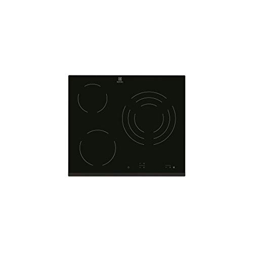 Electrolux EHV6232FOK Intégré Plaque sans zone à induction Noir - Plaques (Intégré, Plaque sans zone à induction, Noir, 1200 W, Rond, 14,5 cm)