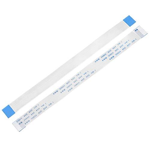 YeVhear - Cable plano flexible de 22 pines de 0,5 mm, 150 mm, FPC FFC, cable de cinta flexible para TV LCD, reproductor de DVD, audio de coche, portátil, 5 unidades (tipo A)