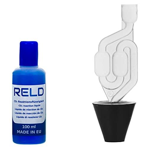 RELD - Detector de Culata Universal para Todos los Coches y Motocicletas, Detector de Fugas de CO2, para 50 Pruebas