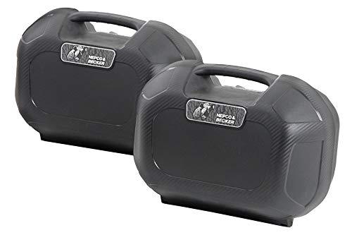 Motorize-HEPCO & Becker Juego de Maletas Laterales Orbit C Bow Sidecase Set