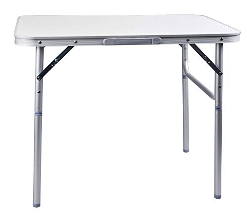 CAMP ACTIVE Table de Camping Pliante en Aluminium,...