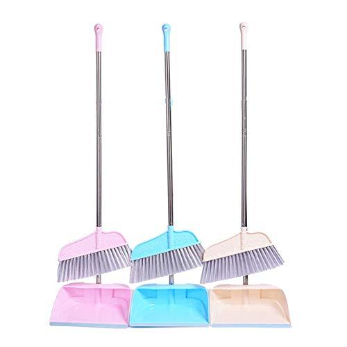 HKHJN Huishoudelijke veegmachine Stofzuigerset RVS vegen reinigingsborstel Tool Sweep Haar Verwijderen Bezem