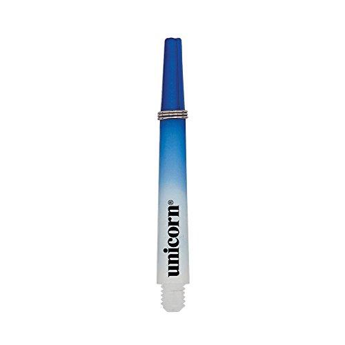 Unicorn Gripper 3 Two-Tone Schaft, kurz, kleines Gewinde, blau/weiß, Einheitsgröße
