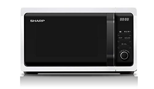 Sharp Home Appliances R-243W Piano di lavoro Solo microonde 20L 800W Bianco forno a microonde