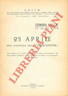 25 aprile festa nazionale della