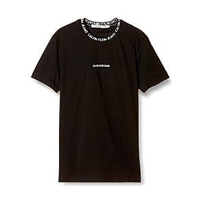 (カルバンクライン) 【CALVIN KLEIN JEANS】ネックロゴ コットン クルーネック Tシャツ J316053