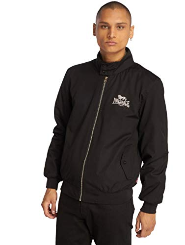 Lonsdale London Herren Übergangsjacken Harrington schwarz XL