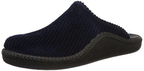 Romika Herren Mokasso 220 Pantoffeln, Blau (blau), 42 EU