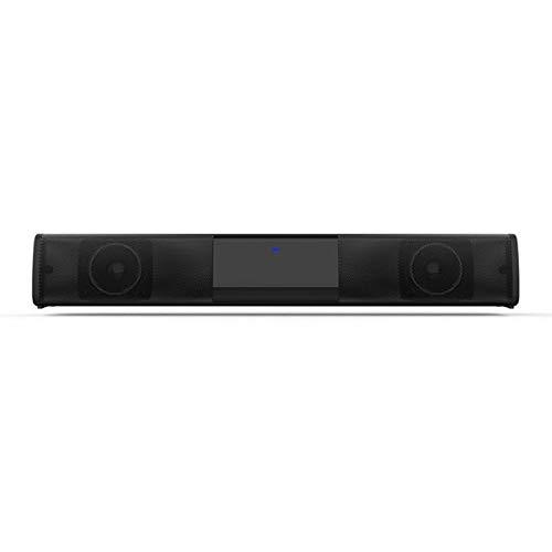 Nologo Altavoz Bluetooth Barra de Sonido Bluetooth 4.2 Altavoz de Cine en casa TV Barra de Sonido Sistema de subwoofer QPLNTCQ