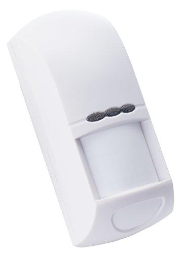 INSTAR IN-Motion 500 PIR/Mikrowellen Bewegungsmelder für Außenbereich inkl. 4 m Anschlusskabel/Netzteil
