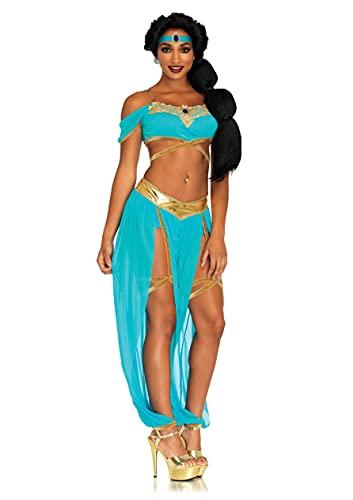 Leg Avenue Oasis Princess - Disfraz de princesa para mujer, tamaño mediano