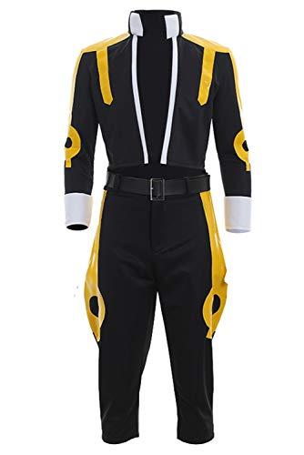 MingoTor Fairy Tail Etherious Natsu Dragneel Disfraz Traje de Cosplay Ropa Hombre XS