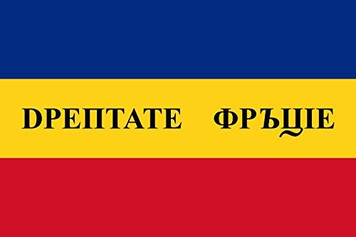 magFlags Drapeau Large Wallachian Revolution of 1848, Horizontal Stripes | Wallachian Revolution of 1848. Horizontal Stripes Version | Drapeau Paysage | 1.35m² | 90x150cm