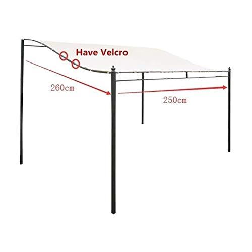 ZYY-Home curtain Canvas Pavillon Zelt Wasserdicht, An Der Wand Pavillon Meter Verschiedenen Grillpavillon,250x260cm