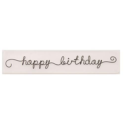 album photo carte Craft Happy Birthday Fafalloagrron Pochoir de gaufrage en plastique pour scrapbooking