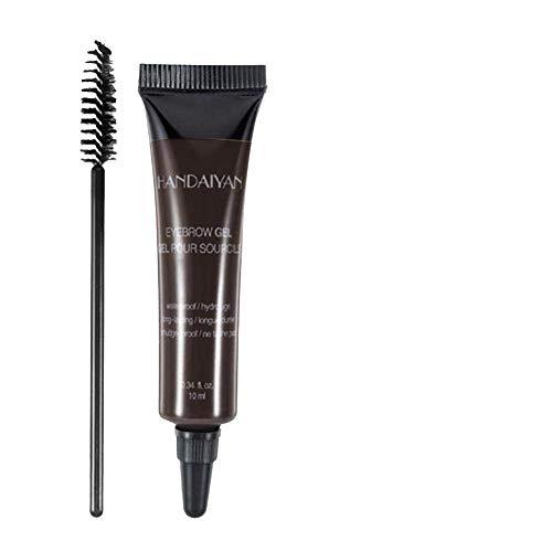 Eyebrow Dye Cream, Professional Eyebrow Gel Waterproof Eyebrow Dye Eyebrow Gel Tint Eyebrow Brush(5)