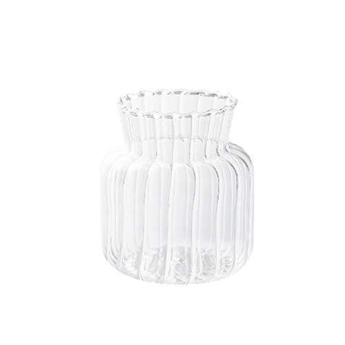 xinxinchaoshi Florero Mini jarrón de Cristal Estilo japonés Sala de Estar Comedor...