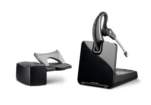 Plantronics CS530 Office Wireless Headset with Extended Microphone & Handset Lifter, Standard Packaging
