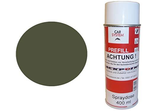 Lackpoint Spraydose 400ml 1 Komponenten Autolack RAL 6003 Olivgrün Matt