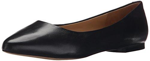 Trotters Women's Estee Ballet Flat Black 6.5 W