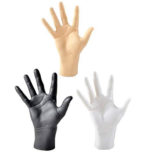 Shiwaki 3X Haltbares Mannequin Männliches Handmodell Für Uhren Hut Handschuh Anzeige