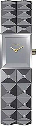 Pinko PK-2322L-08S - Reloj analógico para mujer, correa de acero, color plateado y gris