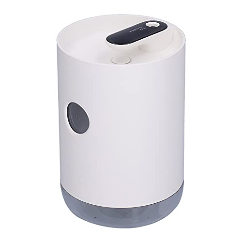 Humidificador, Material ABS 6.23 X 4.33 X 4.33in Humidificador De Escritorio Carga USB con Control De Un Botón para Dormitorio para Viajes(Blanco Elegante)