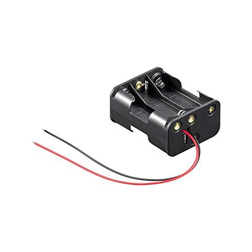 Goobay - Soporte para Pilas (6 x AA, Cable)