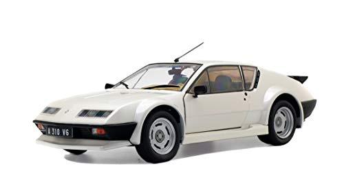 Solido 421184460 - 1:18 Alpine A310 Pack GT, weiß, Modellauto, Modellfahrzeug