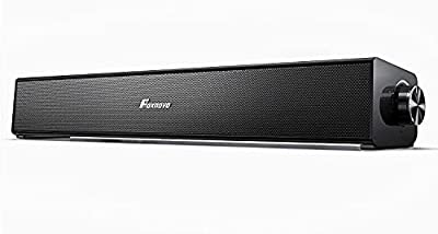Computer Speakers Bluetooth PC Soundbar: Foxnovo 20W 3D Surrounded PC Speakers 85dB Wired and Wireless Home Theater Audio USB Powered Laptop Speakers for PC |Cell Phone| Tablets | Projector| Pad|TV from Foxnovo