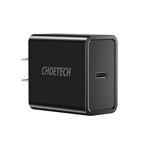 CHOETECH 18W USB Type-C Wall Charger with Power Delivery for Nintendo Switch, Google Pixel/Pixel XL, Lumia 950/950XL, Nexus 5x/6p, etc
