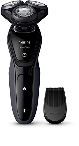 Philips SHAVER SERIES 5000S5270/06Rasierer Drehzahl Gehweg schwarz, Holzkohle–(Rasierer Rasierer Drehzahl, SH50, 2Jahr (E), Schwarz, Holzkohle, Akku, Li-Ion)