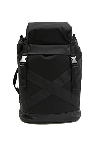 Diesel Outlet XXBACK Rucksack Backpack Notebooktasche Schultasche (Schwarz)