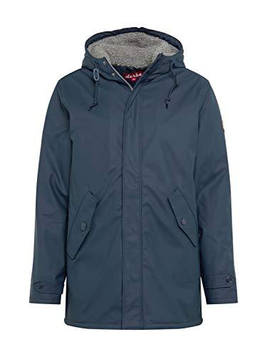derbe Herren Winter Regenjacke Trek Cozy RC Navy dunkelblau - L