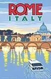 Modtory Rome Italia - Placa metálica para Pared con Texto en inglés Warning para Bar, cafetería, jardín, Dormitorio, Oficina, Hotel