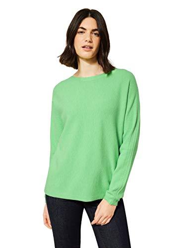 Cecil Damen 301471 Pullover, Bud Green Melange, L