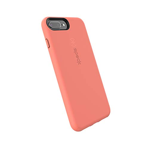Speck Products CandyShell Fit-OG - Custodia per iPhone 8 Plus, iPhone 7 Plus, iPhone 6S Plus, color pesca albicocca