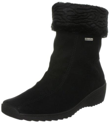Rohde Damen Stiefel, schwarz, 38 EU