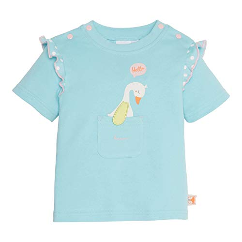 Bornino T-Shirt oie Top bébé vêtements bébé, Bleu Ciel