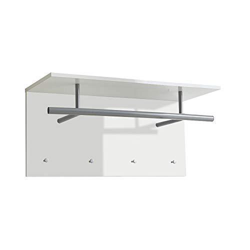 FMD furniture Wandgarderobe, Melaminharz beschichtete Spanplatte, ca. 72 x 35 x 29,3 cm