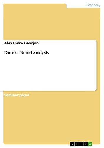 Durex - Brand Analysis (English Edition)